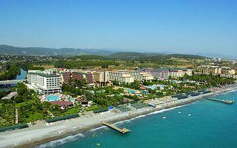 FIRST MINUTE v Turecku na 8 dní so službami All Inclusive v 5* hoteli HOLIDAY GARDEN RESORT od CK Orex - s odletom z BA, KE a z letiska Sliač! Všetky poplatky v cene! Pre rezerváciu stačí zaplatiť zálohovú platbu len 190 €!