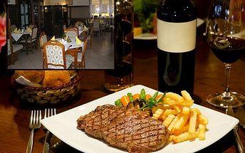 Steaková večeře pro dva! Steaky z pravé svíčkové ve dvou chuťových variantách s přílohou!