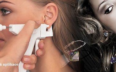 Jedinečná možnost na bezbolestnou aplikaci náušnic v jakémkoliv věku!!!! Výhodná nabídka se slevou 43%