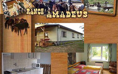 Velká sleva na ubytování se snídaní včetně jízdy na koni a mnoho dalšího.