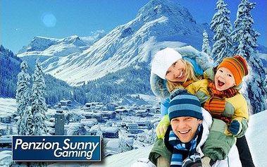 Veľkonočný 5-dňový pobyt pre celú rodinu s raňajkami v rakúskych Alpách v penzióne SUNNY. Len teraz so zľavou až 55%! V blízkosti 3 špičkové skiareály a termálne kúpele za veľmi priaznivé ceny! Len 4 CityKupóny v predaji!