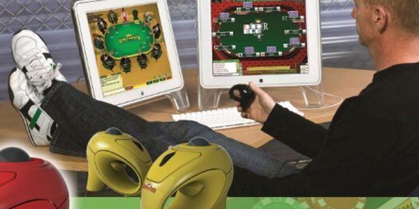 360 Kč za PokerMouse - bezdrátovou, ergonomicky tvarovanou myš. Nejlepší počítačová myš pro hru online Pokeru a podobných online her. Naprosté pohodlí při hře. Vyzkoušejte i Vy myš, kterou používají profesionální hráči Pokeru!