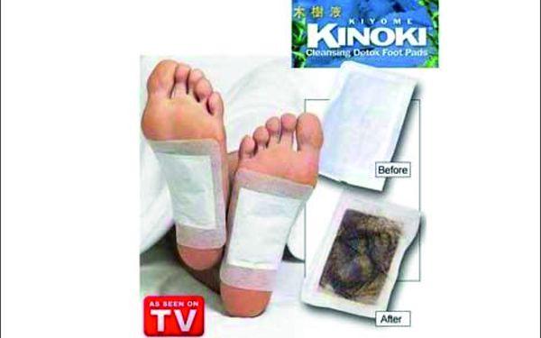 Výborné léčivé detoxikační náplasti Kinoki za bezkonkurenční cenu 89 Kč! Detoxikujte své tělo jednoduše, bez námahy a s nízkými