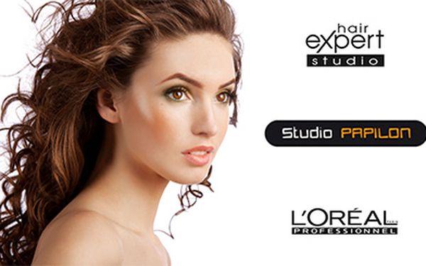 Střih, foukání, profesionální styling + služba Chroma Care, Fiberceutic, nebo Power Dose vlasovou kosmetikou L´Oréal Professionnel!
