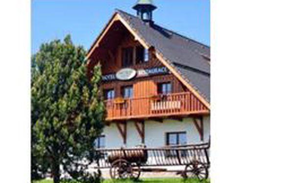 3 denní pobyt pro 2 osoby s polopenzí v hotelu Rankl na Šumavě za 2748 Kč! Sauna, whirlpool, dětské hřiště i koutek a oceněná domácí kuchyně, sleva 40%