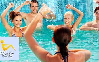 Přijďte si efektivně zacvičit Aqua Aerobic za pouhých 49 Kč! Zlepšení fyzické síly a psychické pohody bez přetížení organismu. A navíc s 51% HyperSlevou.