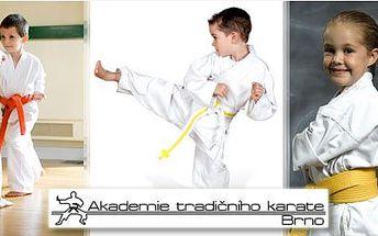 Kurz sebeobrany pro děti od 6 do 14 let v podobě 9 lekcí jen za 250Kč v Akademii tradičního karate. Děti se budou moci zúčastnit i tréninků karate! To vše se slevou 50%!