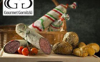 3 ks uherského salámu! 750 g! Výborný na chlebíčcích a ve vydatných svačinách. Dodá energii na výletech či cestách!