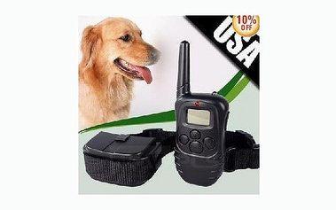 Věnujte se svému miláčkovi - cvičte jej pomocí nejnovějších pomocníků! Výcvikový elektrický obojek pro psa s LCD ovladačem nyní za úžasnou cenu 890 Kč!