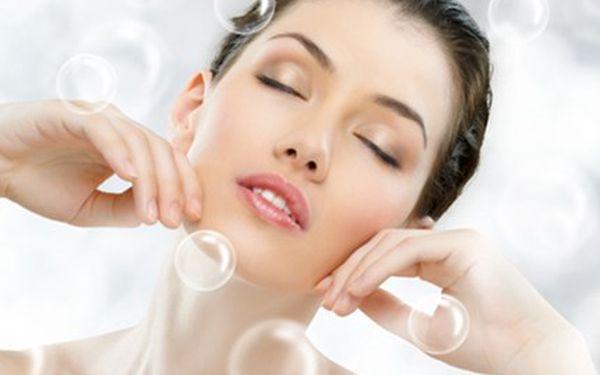 60 min KYSLÍKOVÁ terapie pleti Ošetření pleti čistým kyslíkem- příjemná osvěžující procedura, povrchové čištění pleti, jemný peeling, ošetření obličeje a krku, masáž a gelová maska+ fotoporace.