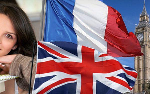Individuální, či skupinové kurzy francouzského nebo anglického jazyka se slevou 50%!! Začněte s výukou, nebo si zdokonalte své dosavadní dovednosti pod dohledem zkušenného lektora!!