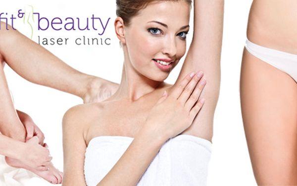 Trvalá epilace špičkovým laserem E-light na vybraných partiích nebo celém těle! Mějte do plavek pokožku hladkou jak samet se slevou až 94 %.
