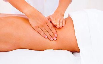 Skvělých 150 Kč za 30 minutovou zdravotní masáž zad a šíje prováděnou fyzioterapeutkou! V příjemném a klidném prostředí si nádherně odpočinete, načerpáte energii, uvolníte se, zrelaxujete a odplavíte stres a emoce. To vše s fantastickou slevou 40 %!