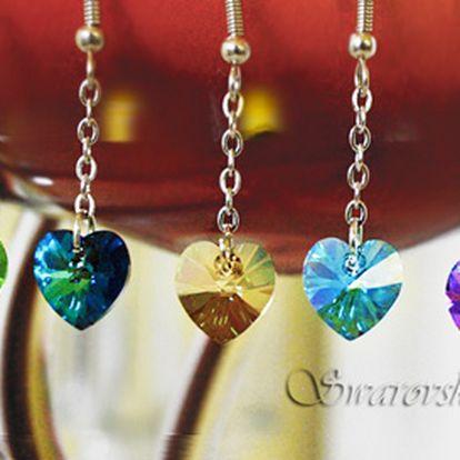 Fantastických 199 Kč za originální náušnice s krystalem Swarovski® ve tvaru srdíčka. Šperk vyroben speciálně pro Vás na zakázku v luxusním dárkovém balení – originální krabiččce Swarovski Elements! Dárek, který potěší každou ženu. Sleva 51 %!