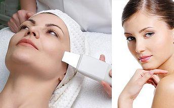 OLOMOUC - 275 Kč čištění pleti ultrazvukovou špachtlí a další péči - peeling obličeje, nanesení pleťového séra i pleťové masky.