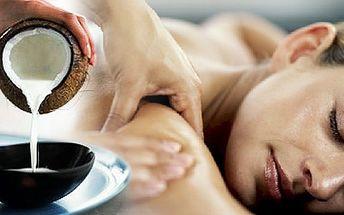 Dopřejte svému tělu jedinečný odpočinek s nádhernou uklidňující vůní kokosu a obdarujte ho odpočinkem v podobě klasické 50minutové masáže zad a šíje !!