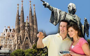 4-dňový letecký zájazd do BARCELONY so SunSet Team - odlety z Viedne, ubytovanie v 3* hoteli! Navštívte pulzujúcu La Rambla, aquarium, slávny Nou Camp, múzeum Picassa či krásy architektúry ako Sagrada Familia alebo stĺp Krištofa Kolomba!