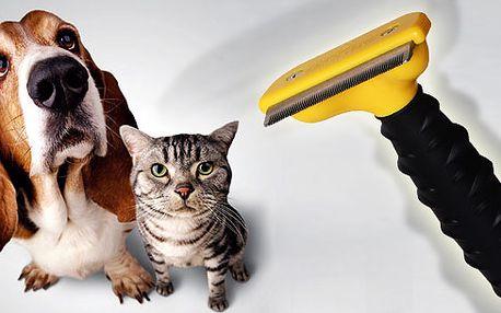 Vyčesávací hřeben FURminator Medium pro psy a kočky všech srstí!!