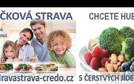 Zdravá, nutrične vyvážená strava po dobu piatich dní! Komplexný stravovací program pre MUŽOV. Chudni zdravou formou bez investície vlastného času so zľavou 41%