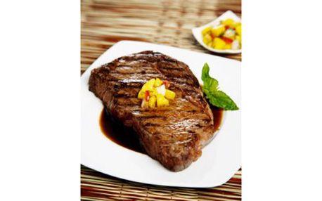 Skvělá nabídka DVA steaky TEXAS s fazolemi v hospůdce Cihelna se slevou 52%