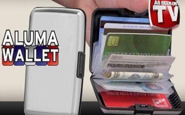 Zbavte se vaší staré neskladné peněženky, která se vám sotva vejde do kapsy či tašky! Je tu nový Aluma Wallet - praktické pouzdro na platební karty či peníze za skvělých 165 Kč! Znáte z TV.