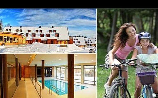 2 333 Kč za 3 denní pobyt pro 2 osoby v ÚPLNĚ novém APARTHOTELU pod Zakletým v Orlických horách, s polopenzí, wellness a s možností prodloužení pobytu!