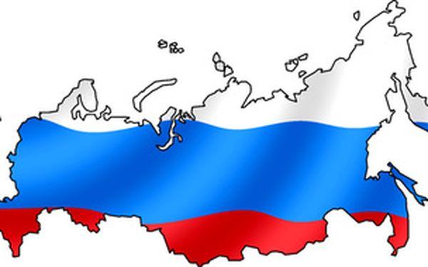 Ruština pro začátečníky - 10 lekcí se slevou se slevou 25%