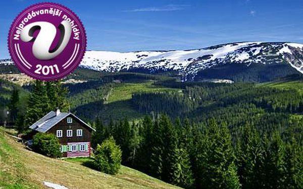 Horská chata v Krkonoších na 4 dny pro dva s bohatou polopenzí – chata Vendlovka s panoramatickým výhledem, přímo na Černé hoře v srdci KRNAP