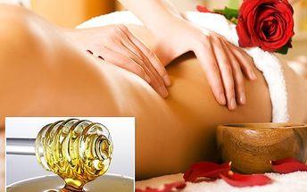 Dopřejte si zasloužený relax díky pěti hodinovým medovým masážím – detoxikují organismus a uleví od bolesti i stresu! Perfektní tip na dárek!