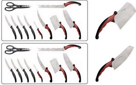 Zakupte si set kvalitních velmi ostrých nožů Contour Pro Knives za neskutečnou cenu 399 Kč včetně poštovného! Desetidílná sada nožů s čepelí z nerezové oceli. Ideální na krájení masa, ryb, zeleniny, ovoce a pečiva.