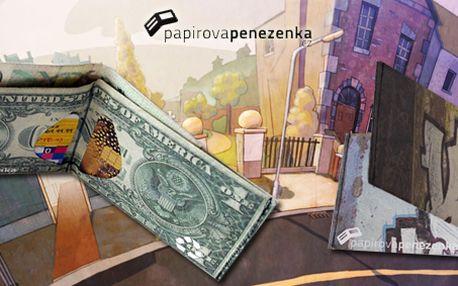 Design, styl, účelnost! PapírováPeneženka.cz je trendy záležitost. Zapomeňte na fádní náhražky kůže a pořiďte si peněženku street edice z materiálu Tyvek, který je vysoce odolný proti roztržení a voděodolný!