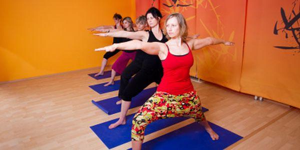 Hot jóga od 269 Kč! Dvě nebo čtyři lekce!