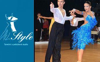 Latinsko-americké tance se slevou! Vyzkoušejte 10hodinový kurz. Naučíte se sambu, rumbu, jive a další.