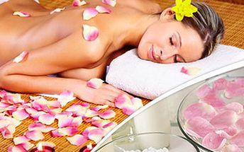 60min. exkluzivní MASÁŽ luxusním růžovým olejem + péče o ruce. Luxusní růžový balíček nabízí masáž celého těla olejem ze Starodávné růže, v kombinaci s péčí o Vaše ruce a k tomu čaj z květů růže jako dárek.