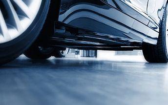 """Kompletní VÝMĚNA PNEUMATIK Kompletní výměna a vyvážení pneumatik velikosti 13"""" - 16"""" u osobního vozu. Přezujte své auto na léto."""