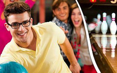 60 min BOWLINGU pro 8 osob v Hotelu Dakol Pronájem bowlingové dráhy v délce 60 minut. Zahrát si může až 8 osob - užijte si chvíle s přáteli a zasportujte si.