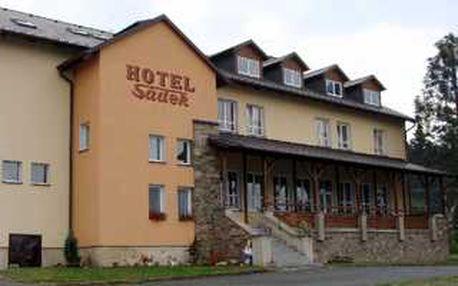 Čtyřdenní pobyt pro dvě osoby v rodinném hotelu Sádek*** v srdci horního Chodska se slevou 55%! Přijeďte k nám přivítat jaro.