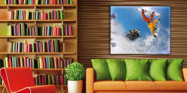 Originální obraz s vaší fotografií. 60×40 i 90×60 cm, umělecké plátno se strukturou. Dodává se napnuté na dřevěném rámu či v tubusu již od 199 Kč.