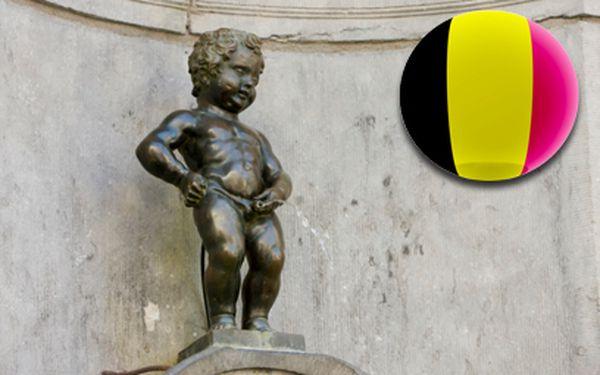 Víkend v Bruselu se zastávkou v Lucemburku a Waterloo za 2780 Kč!