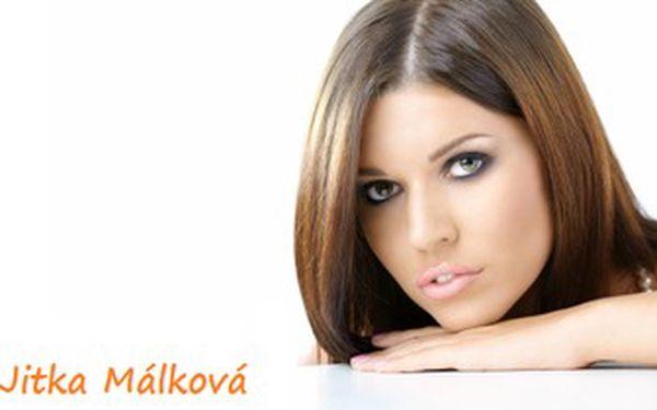 Jen 220 Kč za skvělý střih pro všechny délky vlasů, masáž pokožky hlavy, hloubkovou regeneraci vlasů kosmetikou Revlon a foukání nebo žehlení včetně stylingu. Přivítejte jaro s krásnými vlasy od kadeřnice Jitky Málkové se slevou 45 %!
