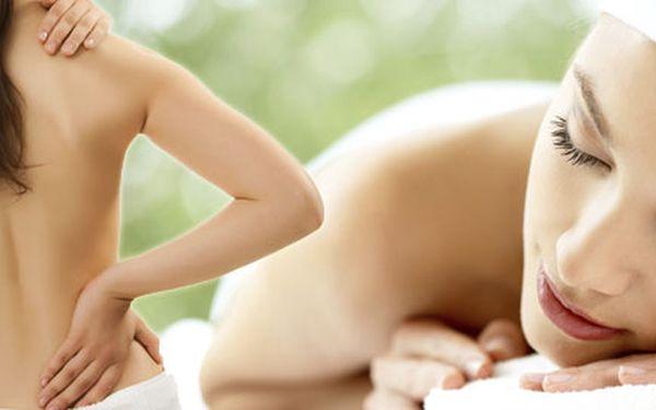 50minutová masáž zad a šíje. Ulevte zatuhlým svalům, zbavte se bolesti hlavy a migrén a užijte si fantastickou relaxaci.
