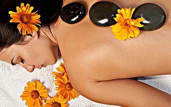 Lávová nebo medová masáž! Odpočiňte si u masáže lávové nebo medové v 60 minutách!