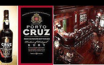 JEN 199,- Kč za nejprodávanější portské na světě. Vychutnejte si vynikající révové víno s přídavkem pravé brandy PORTO CRUZ RUBY, nyní s 49% slevou.