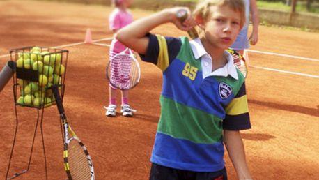 Letní tenisový kurz pro děti za fantastických 4500 Kč. 4 měsíce výuky v Praze východ od poloviny dubna do poloviny října (kromě letních prázdnin). Děti se seznámí se základnímí tenisovými údery – forhend, bekhend, podání, volej a smeč. Super sleva 44 %!