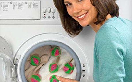 Lola - míčky proti žmolkům (6ks) za skvělých 117 Kč! Pomohou vyprat Vaše prádlo a odstraní z něj nevzhledné žmolky,vlasy, chlupy Vašich domácích mazlíčků a uzlíčky. Super sleva 40 %!