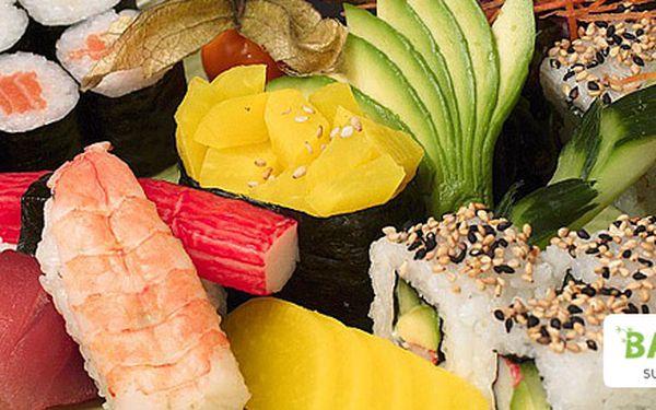 10,99 eur za SUSHI mix 24 kúskov. Zdravá a chutná delikatesa až z ďalekého východu, so zľavou 61 %!