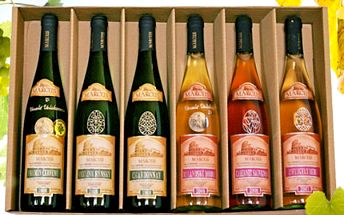 Set 6 PŘÍVLASTKOVÝCH VÍN 6 výborných přívlastkových vín cíleně vybraných na velikonoční tabuli. Set obsahuje tramín červený, zweigeltrebe, rulandské modré, cabernet sauvignon, ryzlink rýnský a chardonnay.