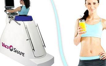 5x 30 min VACUSHAPE + 5x iontový nápoj Trénink VacuShape probíhá chůzí na běžeckém pásu, kdy na Vás působí podtlak, jež aktivuje metabolismus tuků i lymfatický systém. Buďte fit.