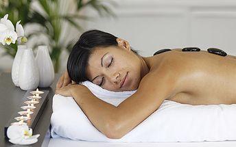 12 eur za relaxačná a uvoľňujúca masáž lávovými kameňmi. Zbavte sa stresu, napätia a oddýchnite si so zľavou 52 %