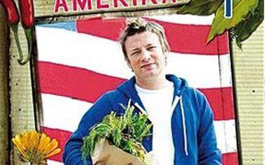 """JAMIE OLIVER u vás DOMA: """"kuchařské umění"""" světoznámého kuchaře v KOLEKCI na 20 DVD!"""